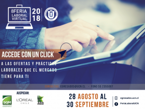 Feria Laboral Virtual UCN 2018